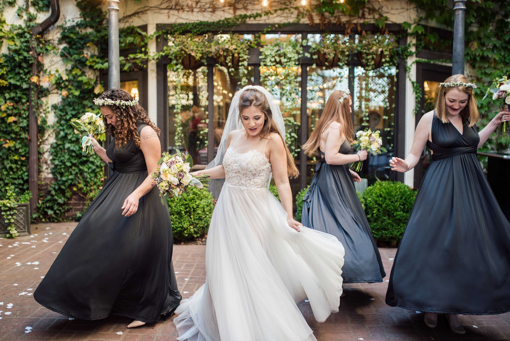 Dress your bridal party to perfection las vegas wedding for How much to clean and preserve a wedding dress