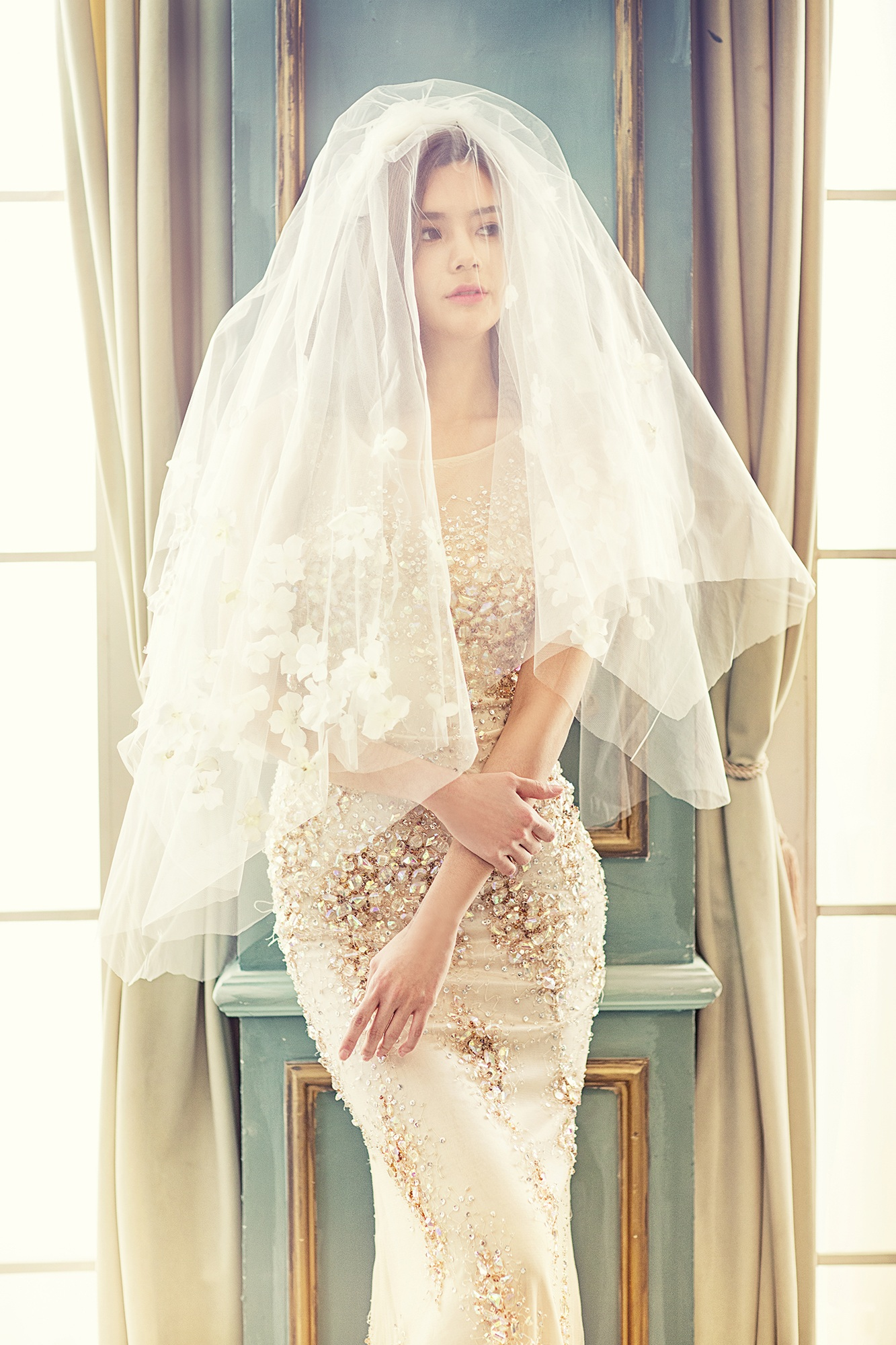 Opt for a Champagne Wedding Dress! | Las Vegas Wedding Gown Specialists